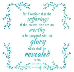 Suffering Today Doesn't Compare to the Glory to Come (Romans